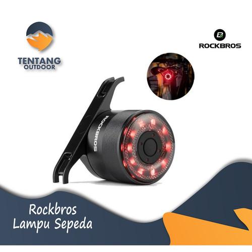 Foto Produk Lampu Sepeda ROCKBROS Q1 Taillight USB Charge Water Resist dari TentangOutdoor