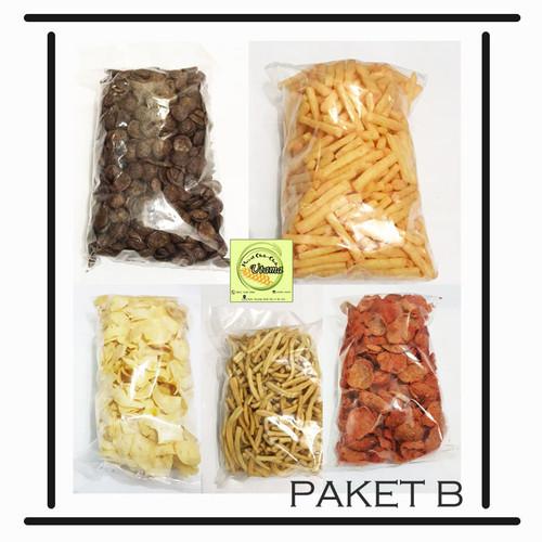 Foto Produk Paket Varian Isi 5/ Paket Snack Murah Isi 5/ Snack Enak Murah Surabaya - PAKET B dari Utama.Snack