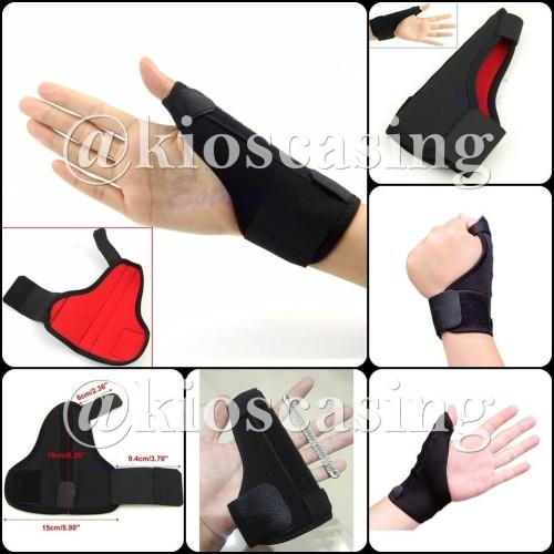 Foto Produk Thumb Splint Wrist Band De Quervain Support Finger Jempol Hand Tangan - Harga 1 Buah dari kioscasing