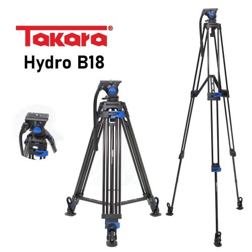 Foto Produk Tripod Video Takara Hydro B18 dari Sriwijaya Camera Denpasar