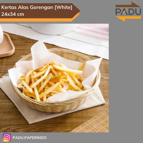 Foto Produk Kertas Alas Gorengan 24x34cm - 250 Pcs / Kertas Penyerap Minyak dari Padu Paperindo