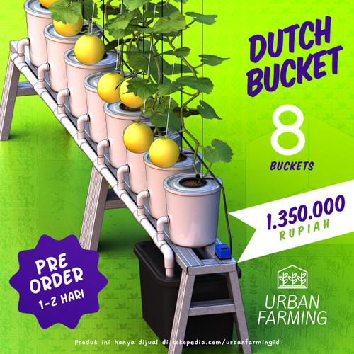 Foto Produk Dutch Bucket Hydroponic System - 8 + Bak - Memanjang dari UrbanFarming