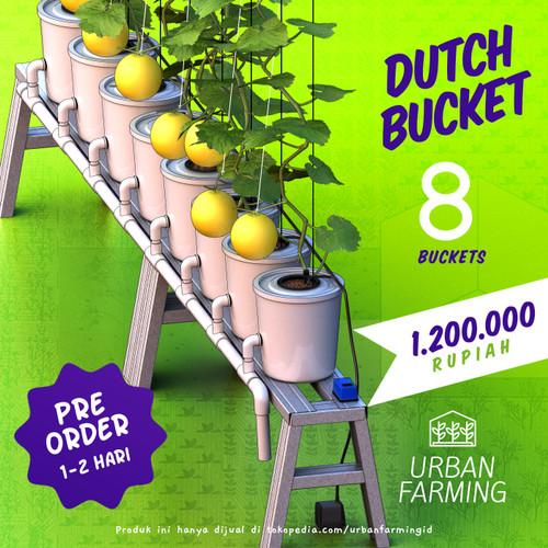 Foto Produk Dutch Bucket Hydroponic System - 8 - Memanjang dari UrbanFarming