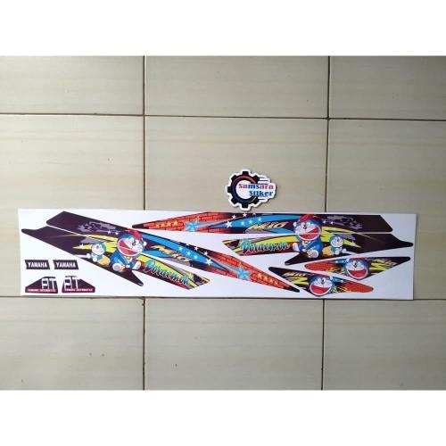 Foto Produk Striping Motor Mio Sporty Doraemon hitam merah dari samsara