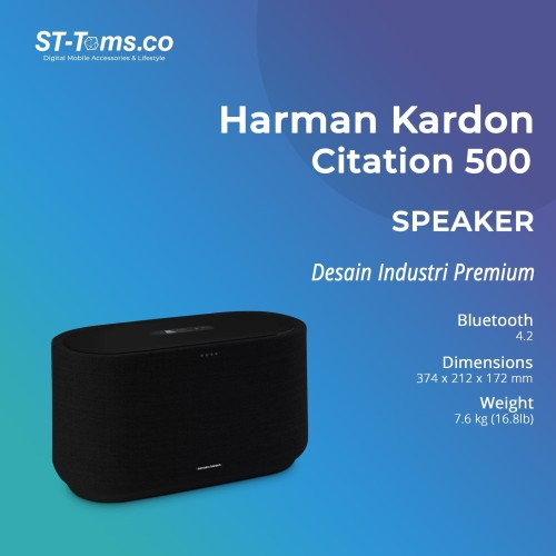 Foto Produk Harman Kardon Citation 500 Google Assistant Smart Speaker dari ST-Toms.co