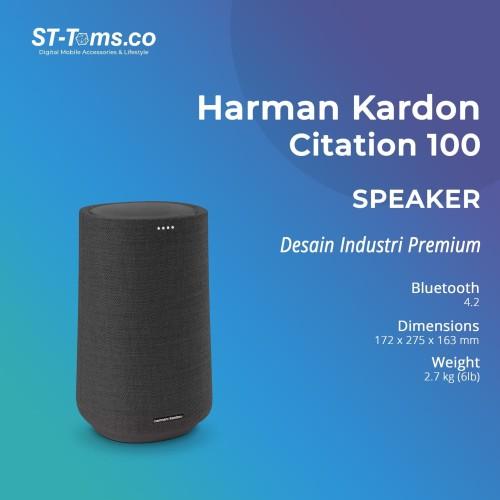 Foto Produk Harman Kardon Citation 100 Google Assistant Smart Speaker dari ST-Toms.co