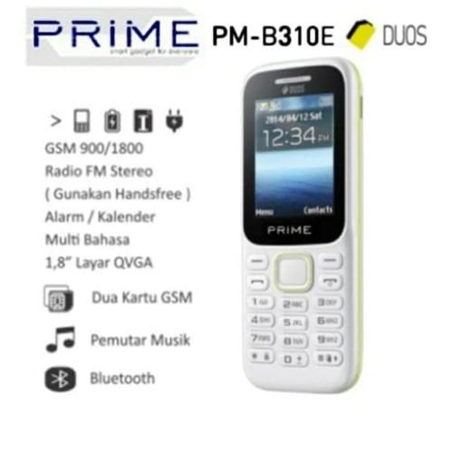 Foto Produk Hp Prime B310e - Candybar 1.8 inch Resmi dari Dynamic Mobile