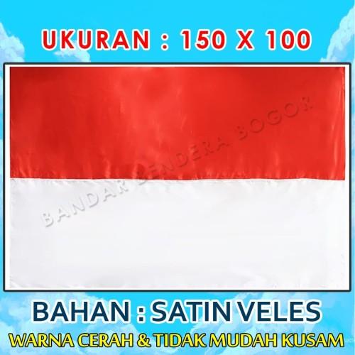 Foto Produk Bendera Merah Putih ukuran 150 X 100 dari Bandar Bendera Bogor