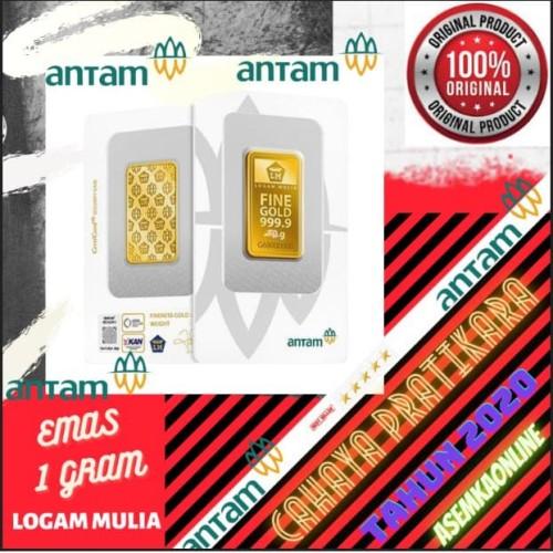 Foto Produk New 1 gram (New Certi) dari CAHAYA PRATIKARA