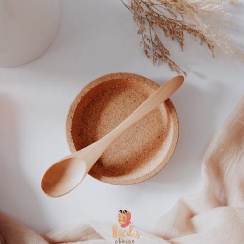 Foto Produk Wooden Spoon/Sendok Katu/Sendok Teh Kopi Kue - Oval dari Nacils Choice