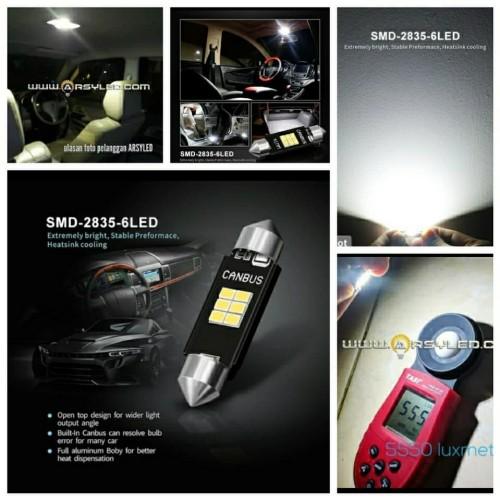 Foto Produk Lampu LED Plafon Kabin Xpander Avanza Agya Calya Sigra Rush Innova - Extrime Bright dari ARSYLED
