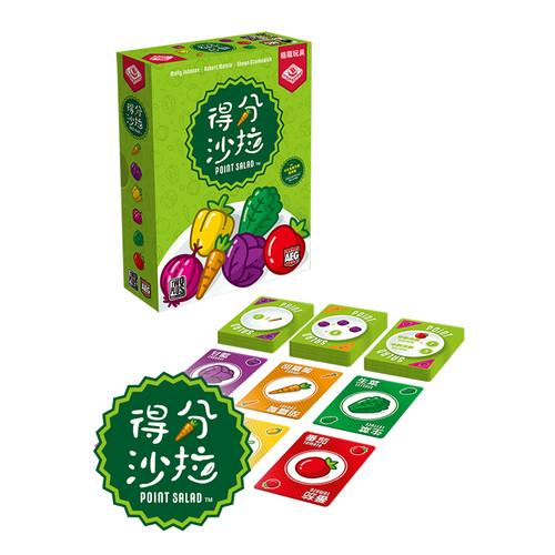 Foto Produk Point Salad ( Original ) - Hongkong Version Card Game - TBG Board Game dari Toko Board Game