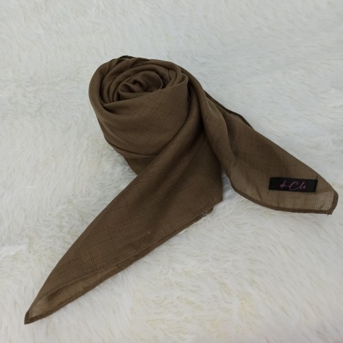 Foto Produk Voal monaco / voal cendani - Hafsa hijab - Wood dari dnClo