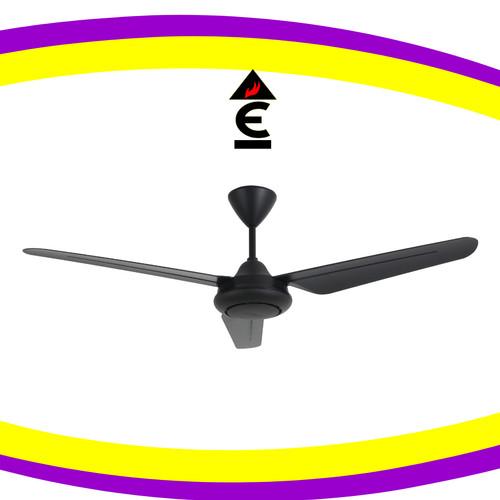 Foto Produk Mt Edma 54in Best B3 Kipas Angin Dekorasi Plafon Ceiling Fan Decorate - Hitam dari Ekklesia Lighting & Interior