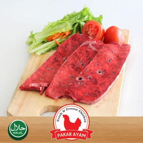 Foto Produk Paru Sapi Slice / Iris Kemasan 1kg Kualitas Premium. dari Pakar Ayam