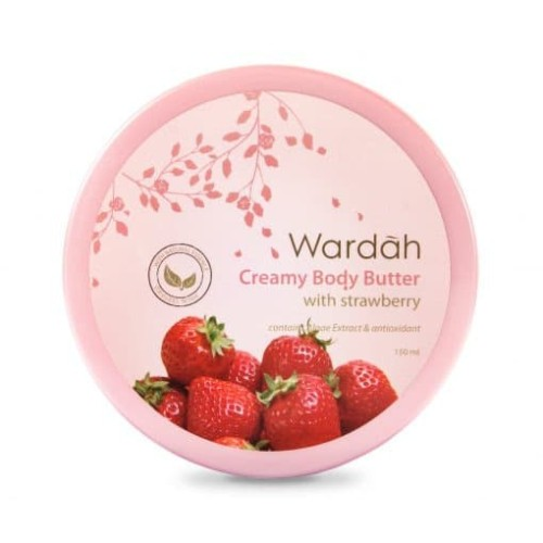 Foto Produk Wardah Creamy Body Butter with Strawberry 100 ml dari Wardah Official