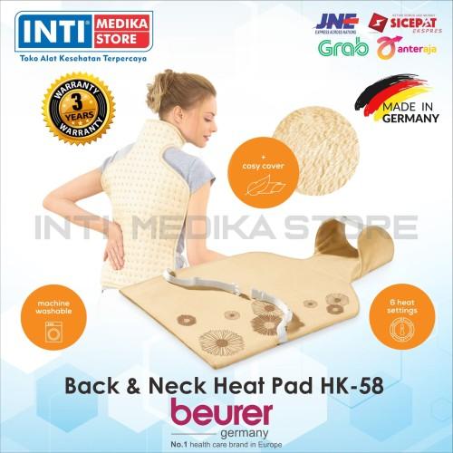 Foto Produk BEURER - Heating Pad Back & Neck HK 58   Bantal Panas Punggung & Leher dari INTI MEDIKA STORE