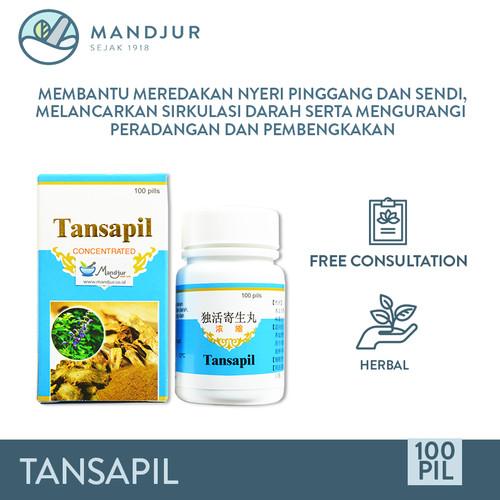 Foto Produk Tansapil - Obat Nyeri Sendi, Lutut, Pinggang, Otot Kaku dan Pegal Linu dari mandjur