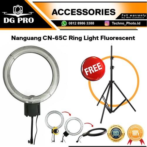 Foto Produk Ringlight Nanguang CN-65C LED Lampu Ring Lite Ring Light Fluorescent dari DG PRO