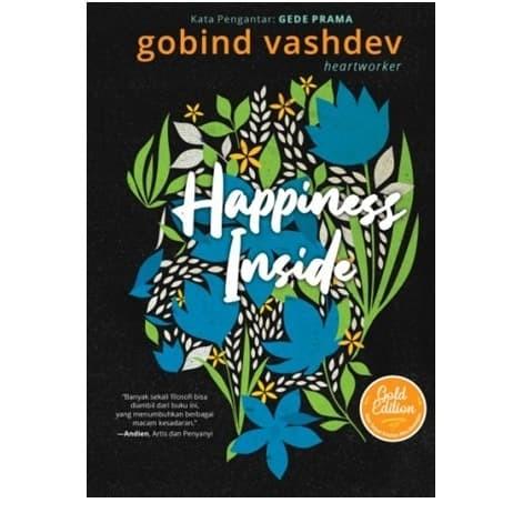 Foto Produk Happiness Inside (REPUBLISH) Gold Edition gobind vashdev dari Mizanstore