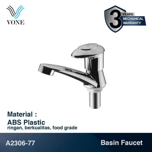 Foto Produk VONE A2306-77 Keran Kran Air Basin Desk Wastafel Kamar Mandi ABS dari Vone Sanitary Indonesia