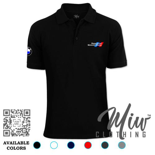 Foto Produk Kaos Polo Bayerische Motoren Werke Logo NEW dari Miw Clothing