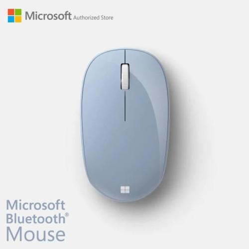 Foto Produk Microsoft Bluetooth Mouse PastelBlue [RJN-00017] dari Microsoft Authorized