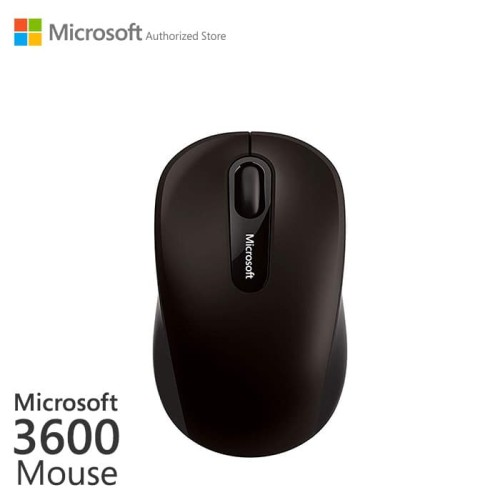 Foto Produk Microsoft Bluetooth Mobile Mouse 3600 Black [PN7-00010] dari Microsoft Authorized