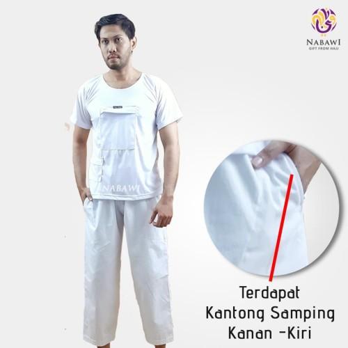 Foto Produk Celana Pangsi Panjang Putih Haji Umroh - PUTIH M dari Nabawi Jakarta