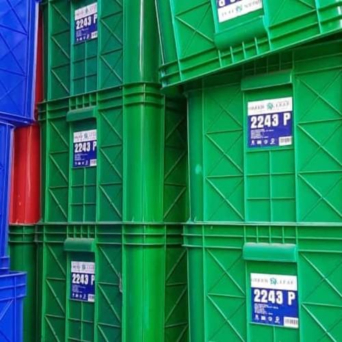Foto Produk Box Container Green Leaf 2243 P / Bak Air Keranjang Industri dari chytra