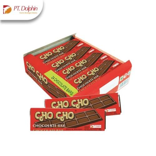 Foto Produk PT.DOLPHIN Cho Cho Milk Chocolate - Cokelat Susu - Cokelat Bar-Cokelat dari Dolphin FO