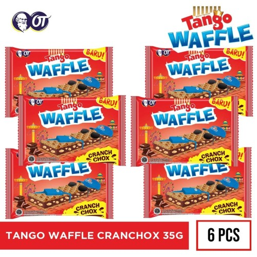 Foto Produk TANGO WAFFLE CRANCHOX 35G dari OT STORE OFFICIAL