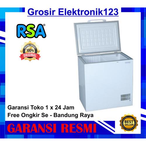 Foto Produk FREEZER RSA CF 100 CHEST FRIZER dari Grosir Elektronik123