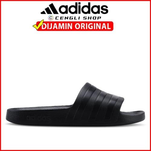 Foto Produk Sandal ADIDAS Adilette Aqua Original Black dari Cengli Shop