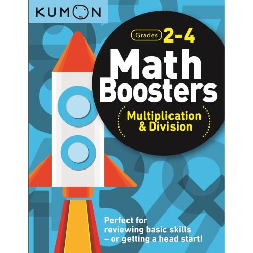 Foto Produk Buku Anak - Kumon - Math Boosters: Multiplication & Division (Grd 2-4) dari Kumon Publishing INA