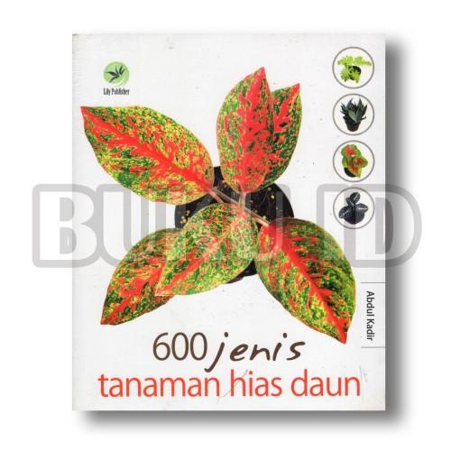 Foto Produk Buku 600 jenis tanaman hias daun dari Buku ID