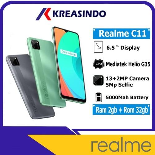 Foto Produk Realme C11 2/32 Ram 2gb Rom 32gb Garansi Resmi - Hijau dari Kreasindo Online
