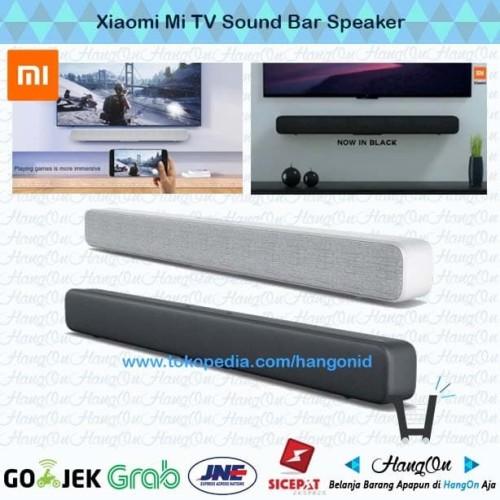 Foto Produk Xiaomi Mi Soundbar TV Wired & Wireless Bluetooth with 8 Speaker Aktif - Putih dari HangOn