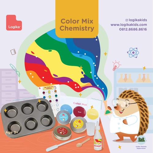 Foto Produk Mainan Edukasi Anak - Color Mix Chemistry dari LogikaKids
