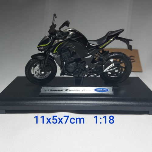 Foto Produk diecast motor KAWASAKI Z1000 R dari mainan anakmurah