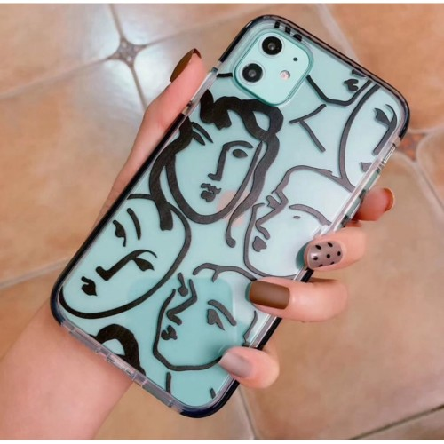 Foto Produk Soft Case iPhone MORE FACE CASE dari Paroparoshop