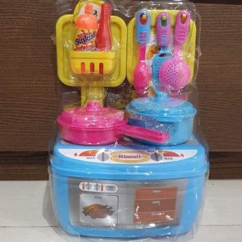 Foto Produk mainan kitchen set murah mainan masakan dapur berdiri dari Howell toys
