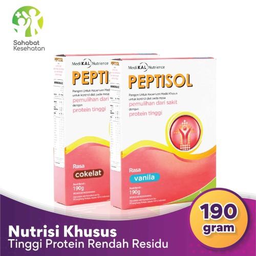Foto Produk Peptisol - Vanilla dari Sahabat Kesehatan