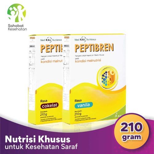 Foto Produk Peptibren - Nutrisi Tepat Pasien Stroke dan Mencegah Pikun - Cokelat dari Sahabat Kesehatan