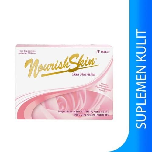 Foto Produk Nourish Skin 15 Tablet / 30 Tablet / 60 Tablet - Box isi 15 dari AIOVA
