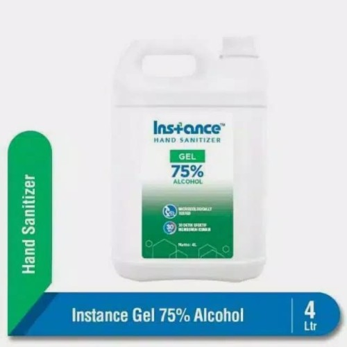 Foto Produk Instance Hand Sanitizer Gel 4 liter Galon dari Official Distributor Bgr