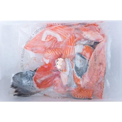 Foto Produk Tulang Ikan Salmon / Bone Fish dari Salmon Hu Jakarta