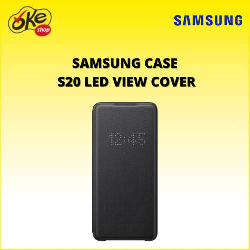 Foto Produk Samsung Case S20 LED view cover - Black dari OKESHOP