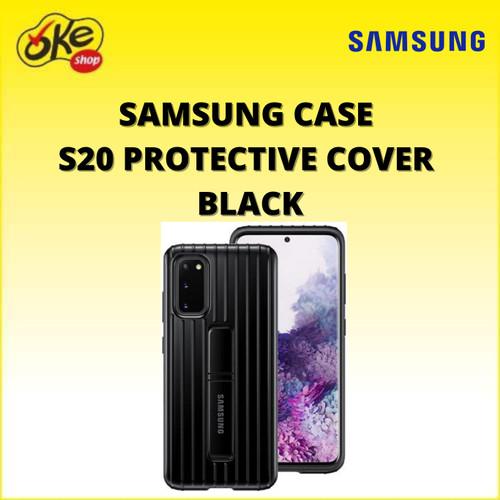 Foto Produk Samsung Case S20 Protective Cover - Black dari OKESHOP