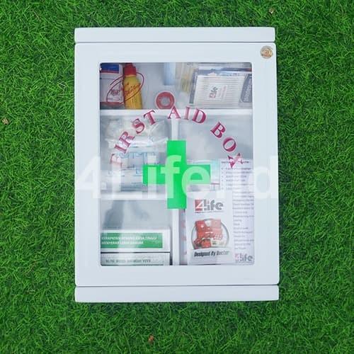 Foto Produk Kotak P3K Dinding / Box P3K Plastik Tipe C / Sesuai kemenaker dari 4Life Indonesia PT DHS